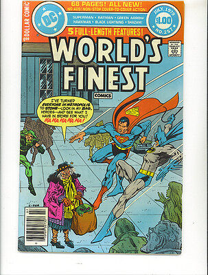 World's Finest 257 1979 Dollar Comic Shazam Superman Batman DC Comics US Comics