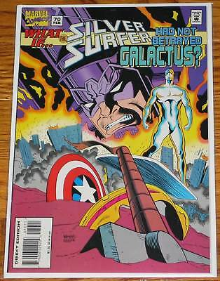 What If #70 Silver Surfer Had not Betrayed Galactus? Thor X-Men Captain America