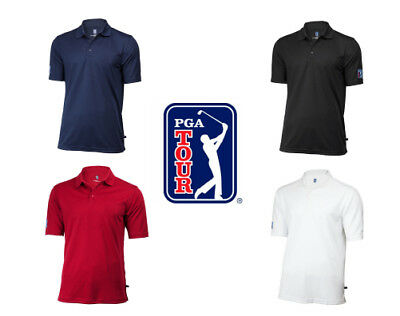 Mens PGA Tour Classic Golf Shirt