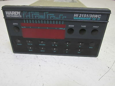 Hardy Instruments Wavesaver C2 It Hi 2151/30Wc-Pm Scale Controller *used*