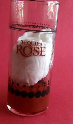 Tequila Rose (Strawberry Cream Liqueur with a Splash of Tequila) Tall Shot Glass