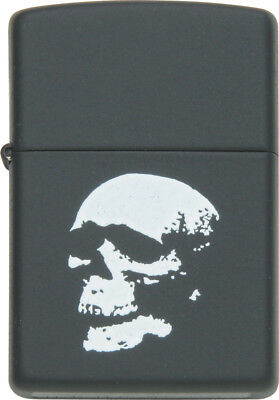 Zippo ZO81068 Fantasy Lighter Skull Black Matte World Famous Lighters