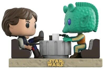 Star Wars - Han Solo and Greedo Cantina Face-Off Movie Moments Pop Vinyl Figure