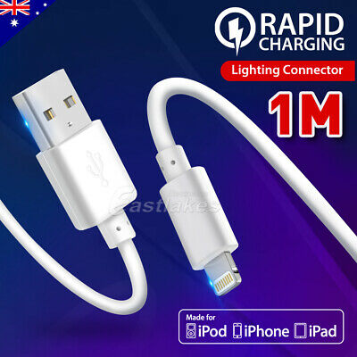 Genuine MFi Lightning USB Cable Fast Charging for Apple iPhone XS MAX XR 8 Plus
