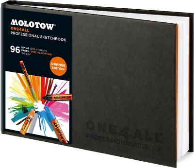 Molotow One4All Professionell Skizzenbuch - Orange Edition - Landschaft