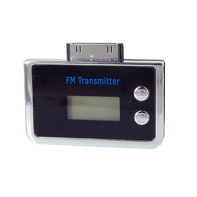 FM Sound Transmitter Music for iPhone iPod with Car Charger 87.5MHz - 108MHz