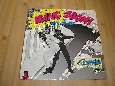"The Real Roxanne - Bang Zoom Lets  Go Go  (Cooltempo 12"")"