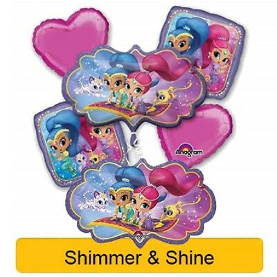 SHIMMER AND SHINE Birthday Party Range - Tableware Balloons & Decorations {1C}