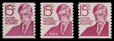 1305E 1305Ev 1305Ei Holmes 15c Prominent Americans Coil Variety Set MNH -Buy Now