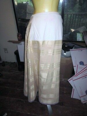 Vtg Western. Victorian.hand Made Long Skirt..SASS.Size Large.Costume
