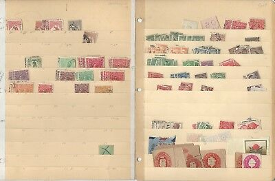 Australia Collection on 8 Stock Pages, Huge Cat Value Lot
