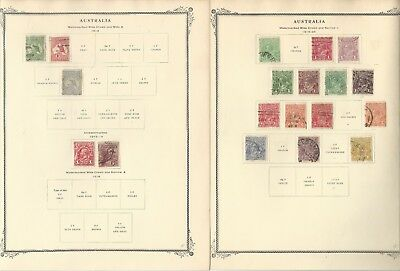 Australia Collection 1913 to 1960 on 26 Scott Specialty Pages