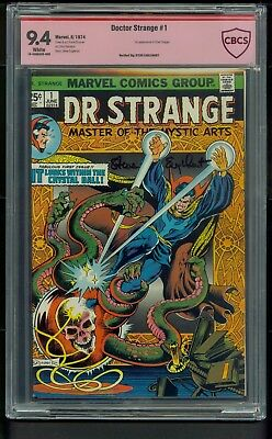 Doctor Strange #1 (1974) CBCS Graded 9.4 ~ Signature Steve Englehart ~ Not CGC