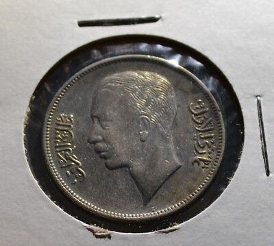 Iraq 50 Fils 1938 Great Condition and Details Older Date Iraqi Coin -  Irq9