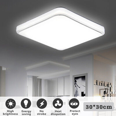 Holmark Square LED Ceiling Light Surface Mount Lamp Living Room Bedroom Bathroom