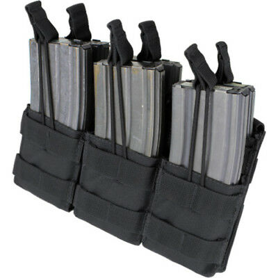 Condor Outdoor Triple Stacker M4 Unisex Pouch Mag - Black One Size