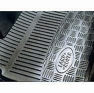 Genuine Land Rover Defender 90 110 Front Rubber Mats 1999 - 2006 (Stc50172)
