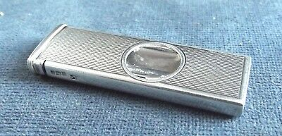 SUPERB Machine Engraved ~ SOLID SILVER ~ CIGAR CUTTER ~ B'ham 1968 by Suckling