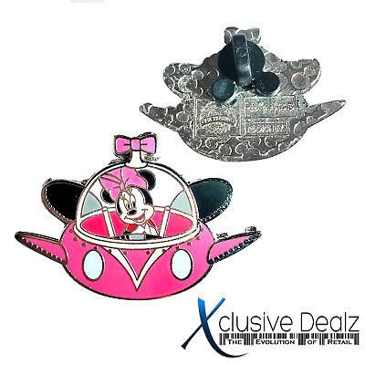 Minnie Mouse in Spaceship Flying Saucer UFO Disney Trading Pin #A1-001 XDEALZ
