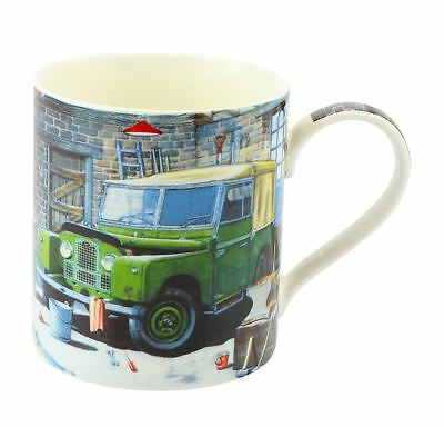 The Leonardo Collection Country Life Fine China Mug Land Rover Design