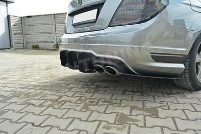 W204 C63 Rear Diffuser Diffuser Mercedes AMG C CLASS COUPE LIMO T Rear Apron DTM