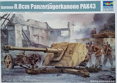 TRUMPETER® 02308 WWII German 88mm PAK 43/41 in 1:35
