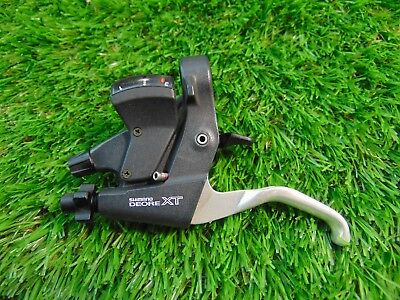 Shimano Deore XT Left Hand Shifter and Brake Lever, ST-M739, 3 speed, triple