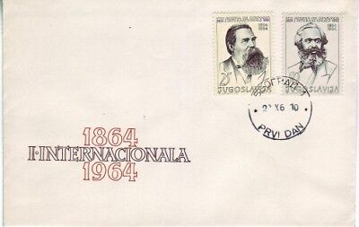 Yugoslavia - Special Events, People & Anniversaries (2no. PO FDC's) 1964-69
