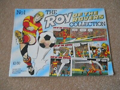 No1 The Roy Of The Rovers Collection Vintage Comic Book Magazine 1987