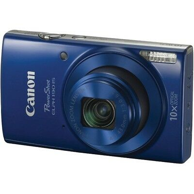 Canon CND1090C001 PowerShot 20.0 MP ELPH 190 IS Camera - Blue