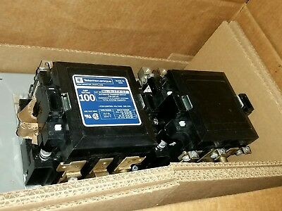 Mc-0-274-22 Telemecanique 100 Amp 3 Phase 208/220V Transfer Switch Contactor