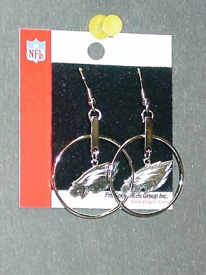 NFL Philadelphia Eagles Hoop Earrings, NEW