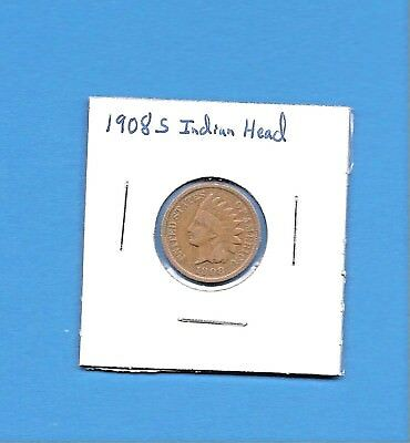 1908 S  Indian Head Penny