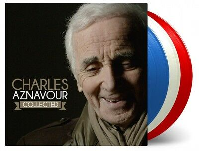 Charles Aznavour - Collected - ltd 3LP 180g audiophile Vinyl /// French Flag