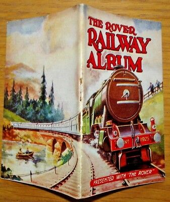 The Rover Railway Album. Presented as a free gift with Rover  comic c.1930s