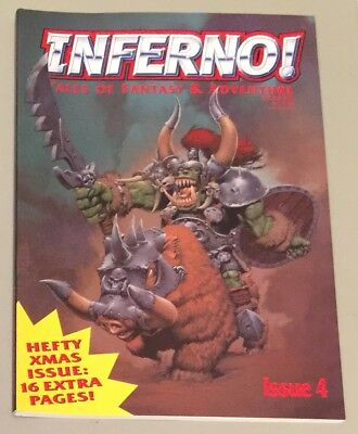 Inferno Issue 4 1997 OOP Rare Mint!