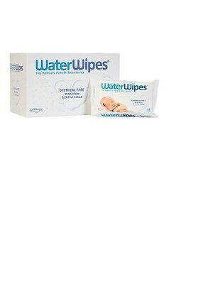 WATERWIPES 12 PACKS of 60  BULK BOX WATER WIPES