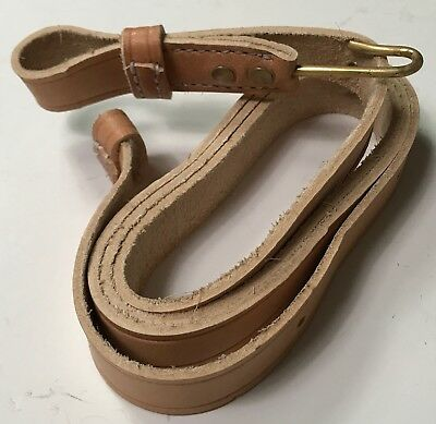 Civil War Us Confederate Union Springfield Musket Rifle Sling-Natural