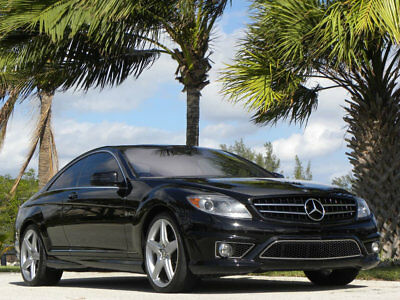 2010 Mercedes-Benz CL-Class CL63 AMG-FULLY LOADED-BEST ON EBAY-NO RESERVE 2010 CL63 AMG-BLACL/BLACK-LOW MILE-SERVICED-$155K NEW-FINEST ANYWHERE-NO RESERVE