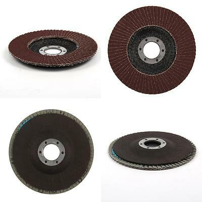 10 Pcs Professional Sanding Discs 115Mm Flap Grinding Wheels 120 Grit Type