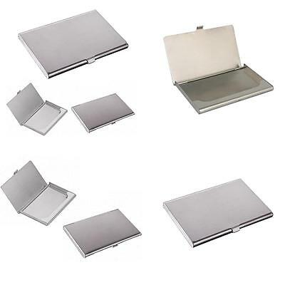 Metal Business Card Holder Credit Coins Shut Pocket ID Card Storage Case HK