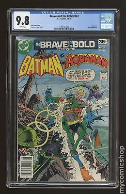 Brave and the Bold (1st Series DC) #142 1978 CGC 9.8 1497131022