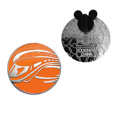 Orange Monorail Walt Disney World Icons Authentic Trading Pin #A1-001 XDEALZ