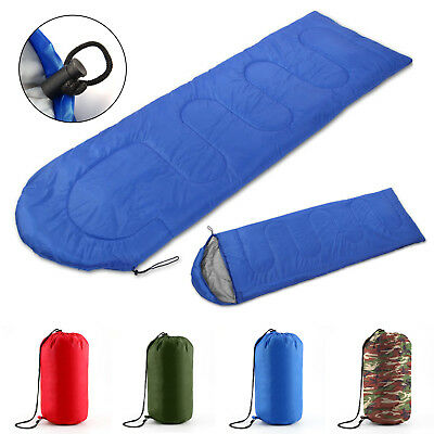 3/4 Season Waterproof Outdoor Camping Hiking Case Envelope Single Sleeping Bag