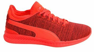 brand new 93397 68e02 Puma Ignite Sock Jersey Lace Up Red Blast Mens Textile Trainers 362352 01  U98