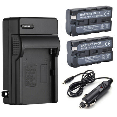 NP-F550 NP-F330 NP-F570 F750 F930 F950 Battery / Charger for Sony Mavica Camera