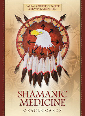 Shamanic Medicine Oracle NEW Sealed 50 Cards & book B. Free K. Peters Y. Leitch