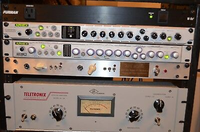 Aphex master channel strip tube preamp eq arual exciter compressor de esser  foh