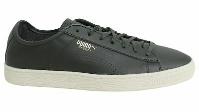 5e975bba1f5 PUMA BASKET CLASSIC Soft Leather Lace Up Mens Trainers 363824 03 M12 ...