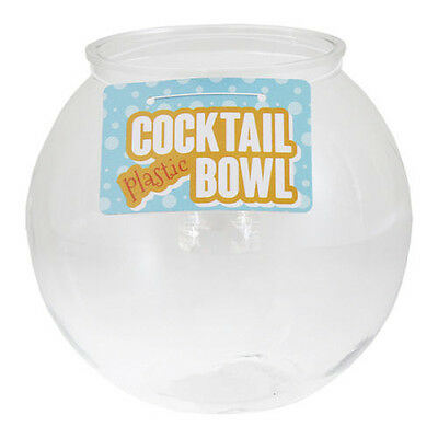 Plastic Cocktail Fish Bowl Party Drinks Punch Drinking Game Jumbo xl Giant